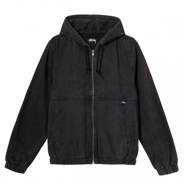 Stüssy Denim Work Jacket Black