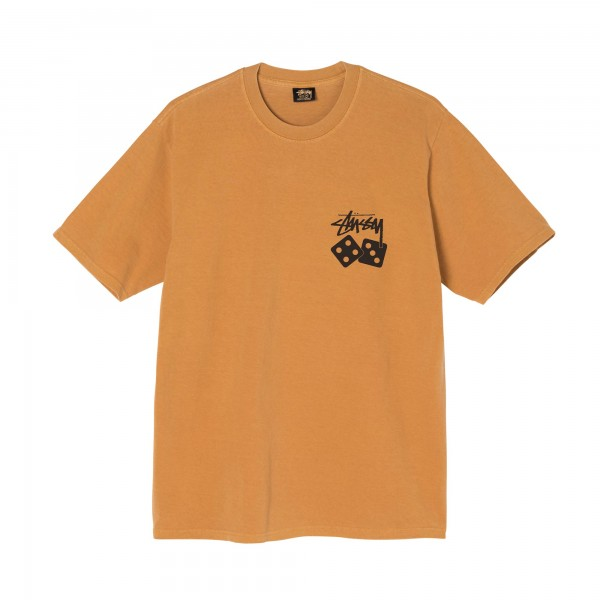 Stüssy Dice Pig. Dyed Tee Copper 01