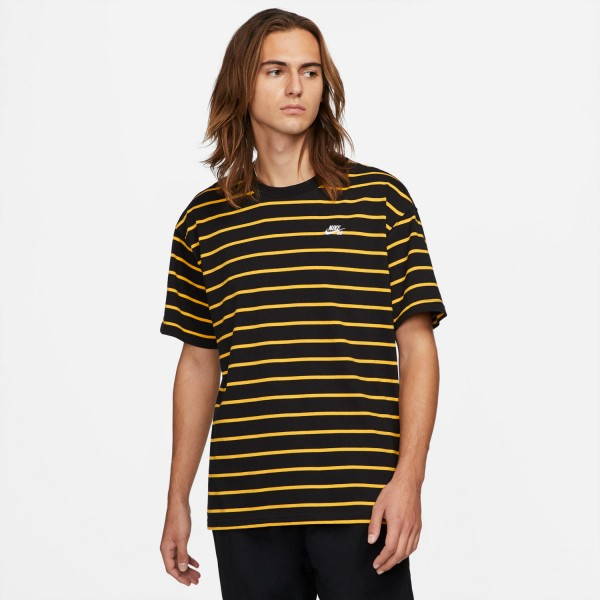 Nike SB Striped Skate T-Shirt Gold