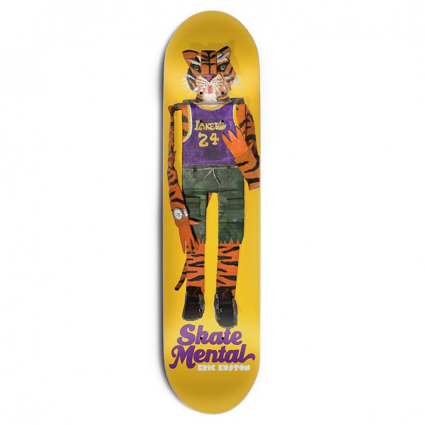 Skate-Mental Deck Eric Koston - Tiger Doll