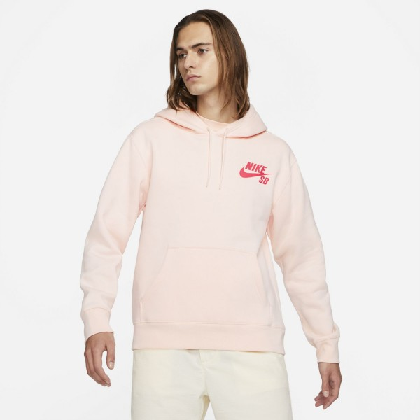 Nike SB Icon Hoodie Orange Pearl 01