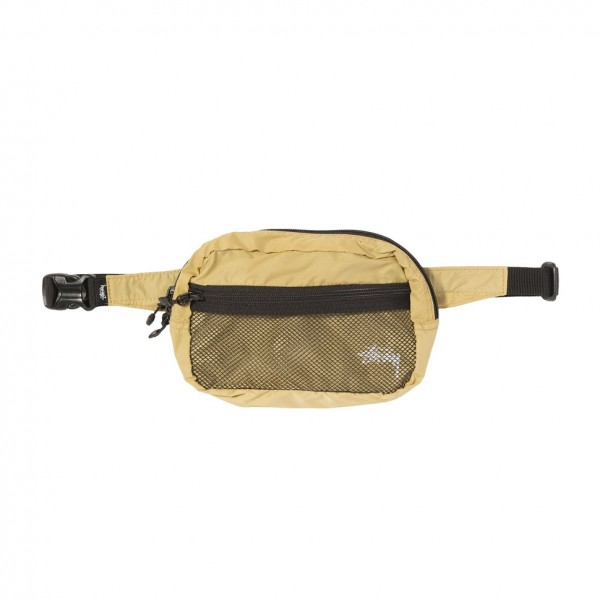 Stüssy Light Weight Waist Bag gold