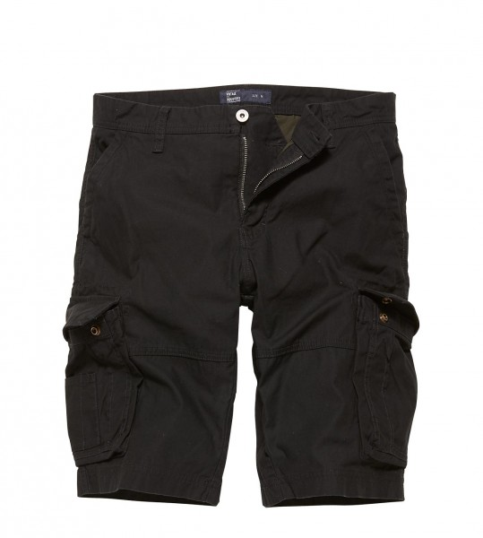 Vintage Industries Rowing Short Black