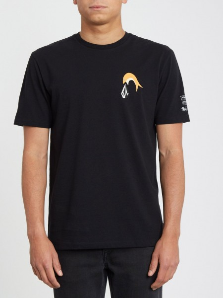VOLCOM P.C. AYERS FA SS - BLACK zupport01