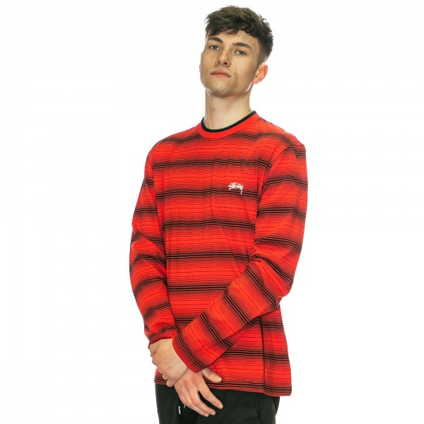 Stuessy-Ombre-Longsleeve-Red-1140141