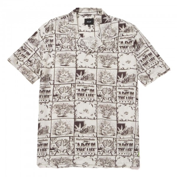 Huf-Day-In-The-Life-Woven-Top-bu00133-Zupport