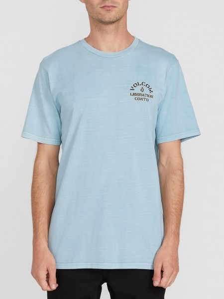 VOLCOM CJ COLLINS S/S TEE - COOL BLUE zupport01