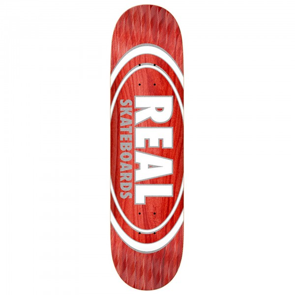 Real Oval Pearl Patterns Deck 8,5