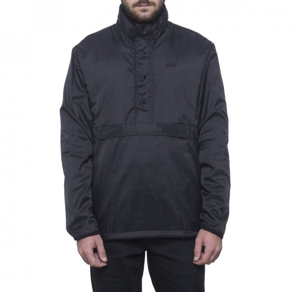 HUF Kumo Reversible 1/4 Zip Black