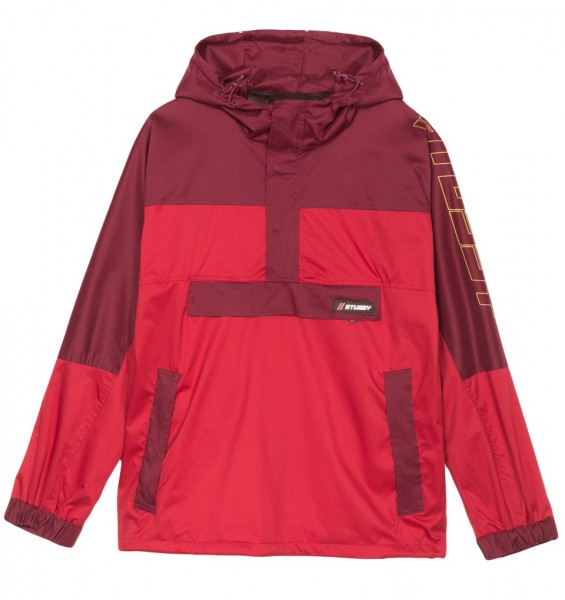 Stüssy Alpine Pullover red