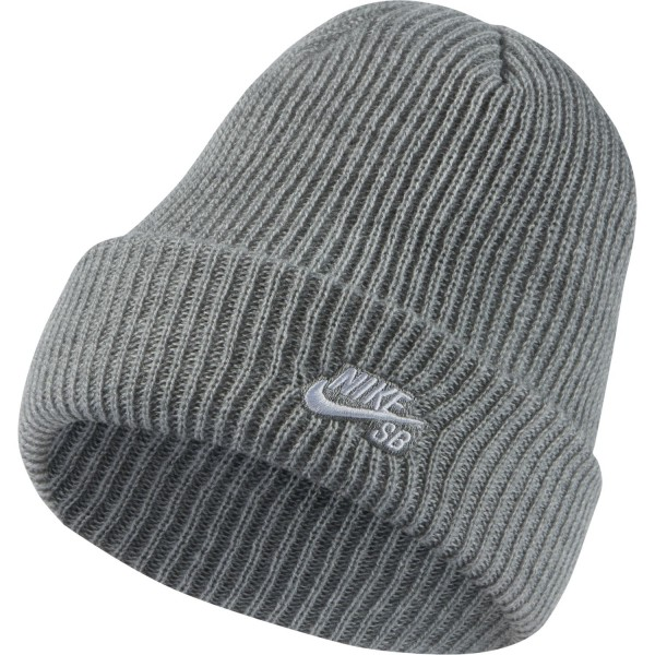 Nike SB Fisherman Beanie Dark Grey 01