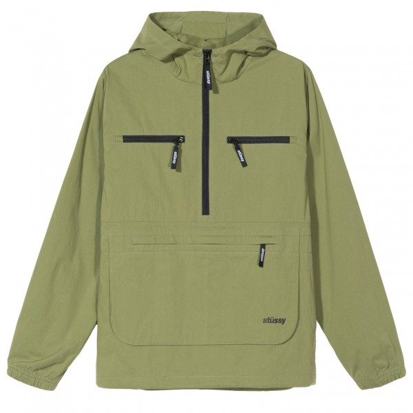 Stuessy Big Pocket Anorak moss- 15476-0411-01 zupport