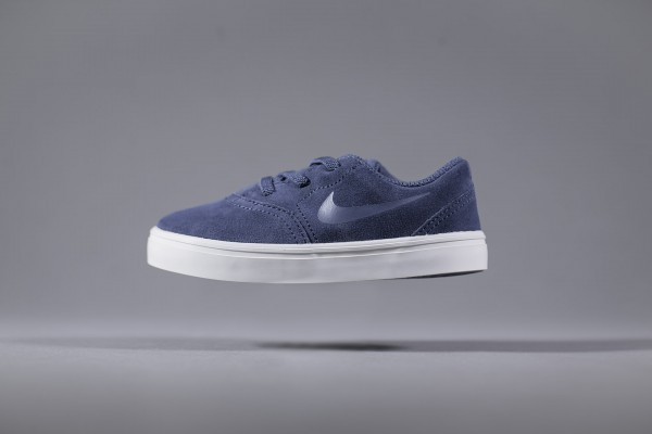 Nike SB Kids Check Suede (TD) Navy