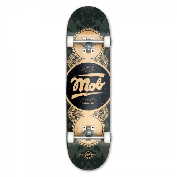 "MOB Skateboards Komplettboard Gold Label – 8.5"" 01"