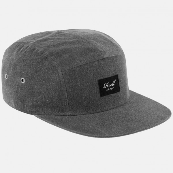 Reell 5-Panel Cap Washed Charcoal 01