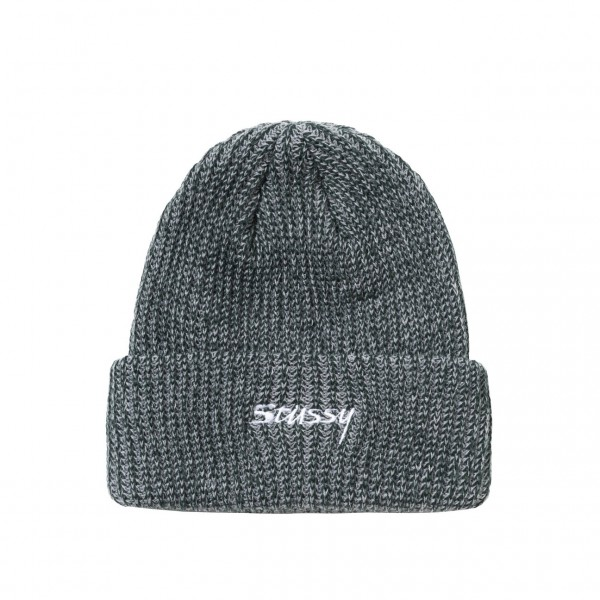 Stüssy 2 Tone Knit Short Beanie green