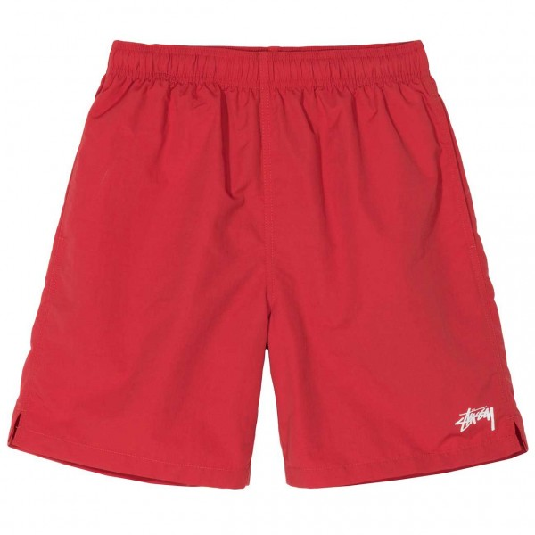 Stüssy Stock Water Short Red
