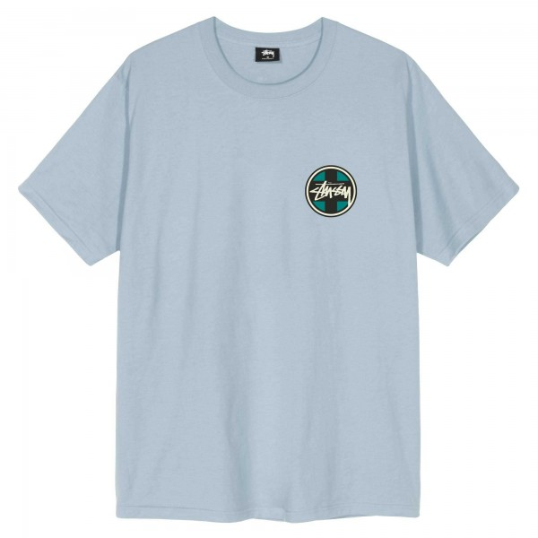 Stüssy Cross Dot Tee Slate