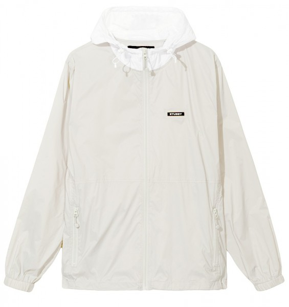 Stüssy Sport Nylon Jacket Grey