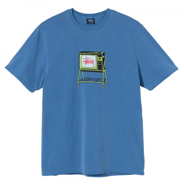 Stüssy Rolling TV Pigment Dyed Tee 01