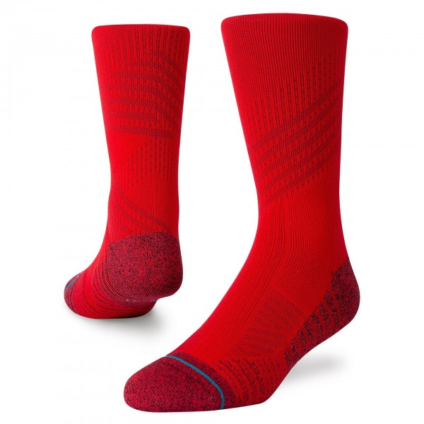 Stance Athletic Crew ST Red 01