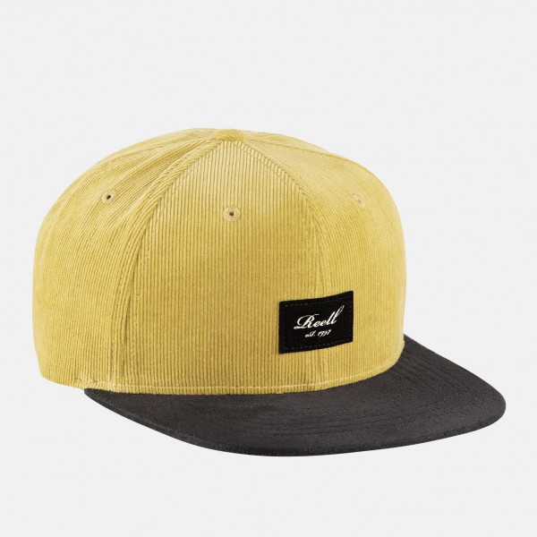 Reell Suede Cap Silver Yellow Brown Ribcord