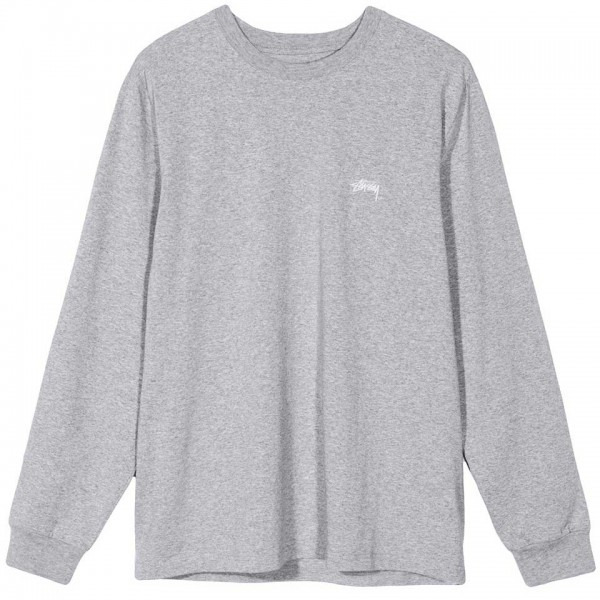 Stuessy-Stock-Crew-Longsleeve-Grey-1140136-0009 zupport