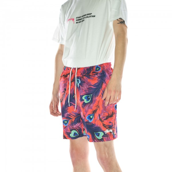 Stuessy-Peacock-Water-Short-Red-113111