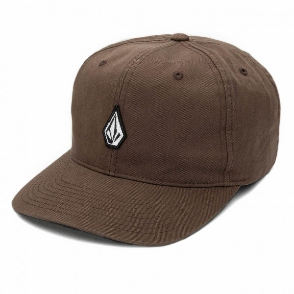 6-Panel Cap Mini MArk Vintage Brown D5512005_VBN zupport