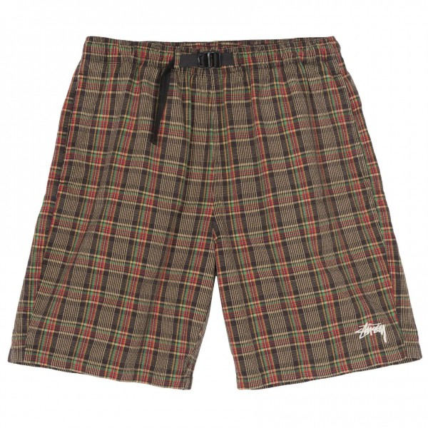 Stüssy Plaid Mountain Short